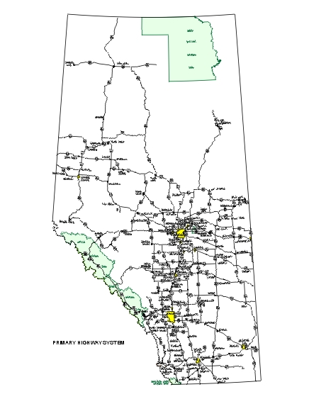 Government of Alberta Ministry of Transportation Appendix A