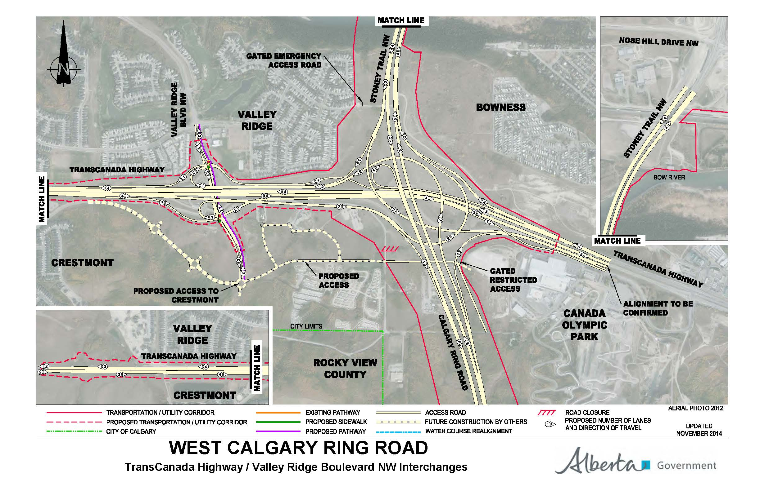 Government of Alberta Ministry of Transportation: West ...