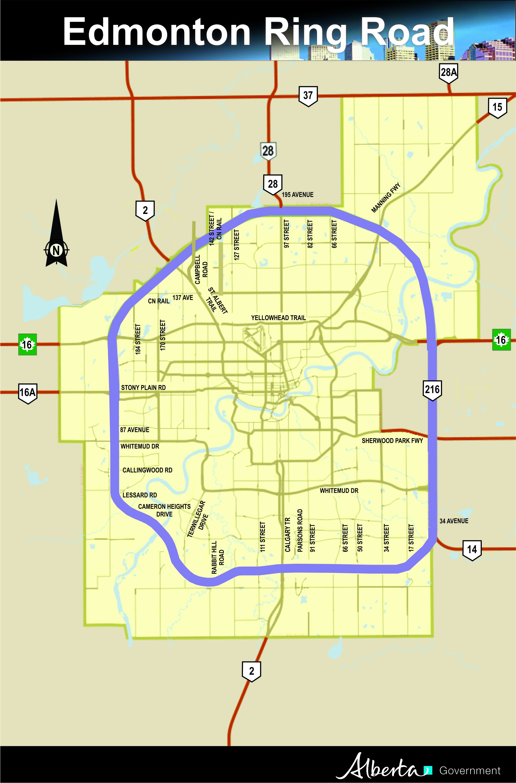 Government of Alberta Ministry of Transportation Edmonton Ring Road