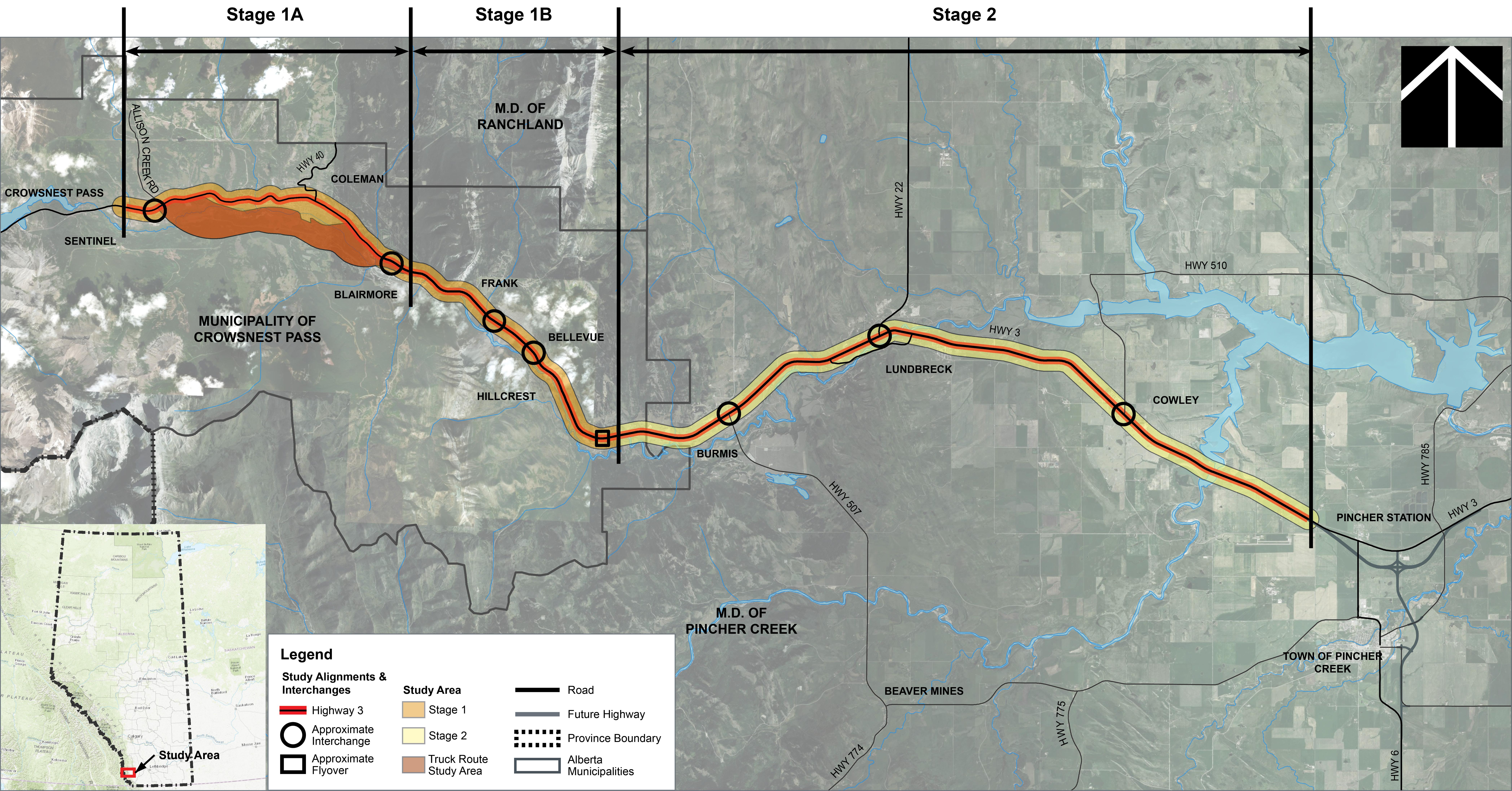 Government of Alberta Ministry of Transportation Highway 3 Twinning