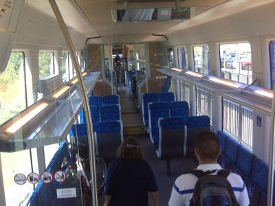 amtrak train interior. Black Bedroom Furniture Sets. Home Design Ideas