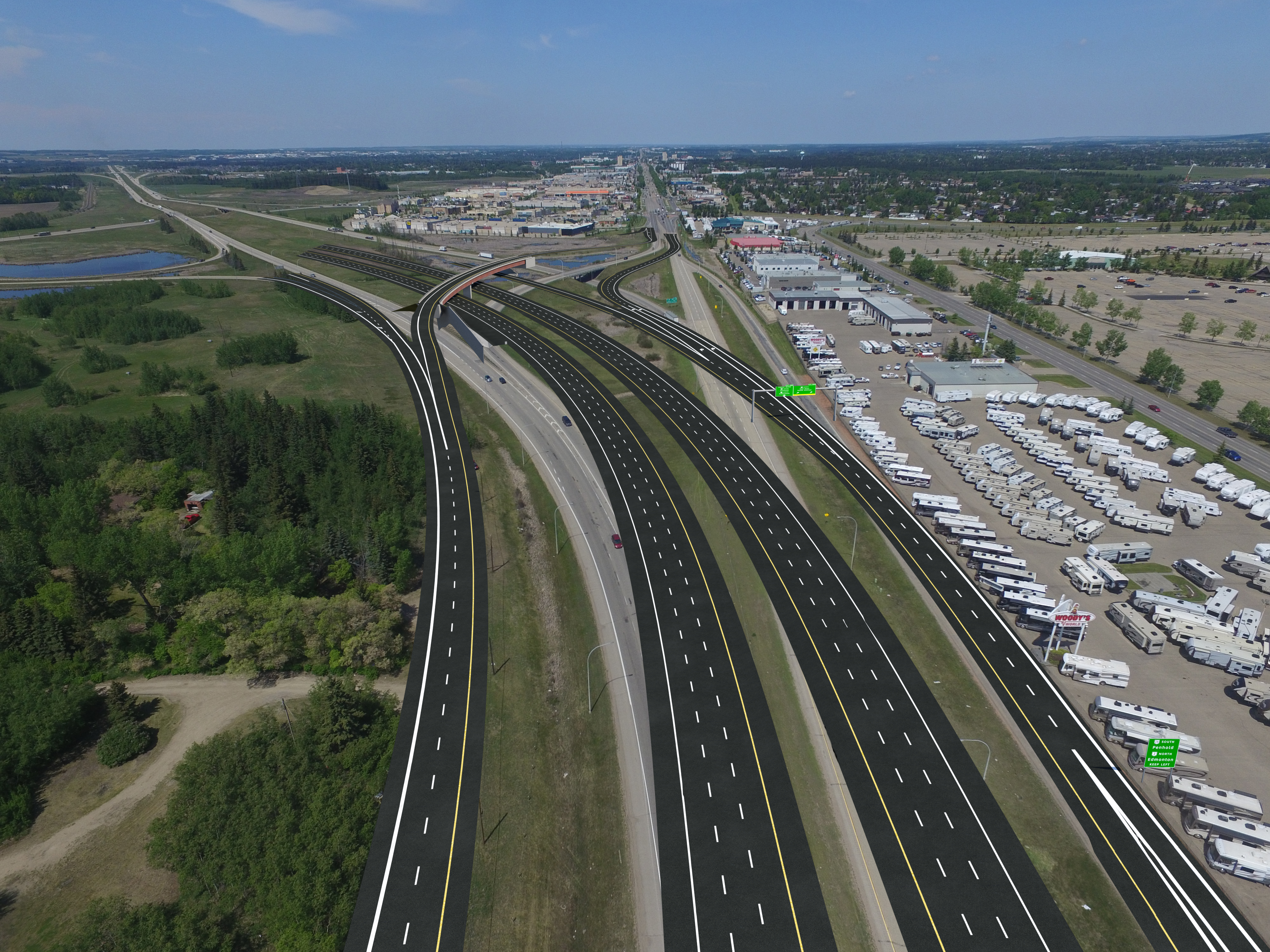 Road construction infrastructure is planned to be built in the North of Moscow 35